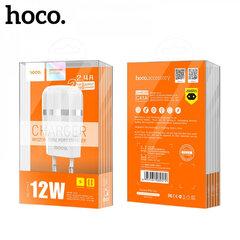 Сетевой блок HOCO C41A 2 разъема USB, 2.4A