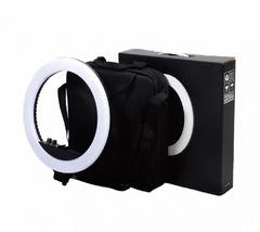 Кольцевая светодиодная лампа HQ-18 45см со штативом для профессиональной съемки