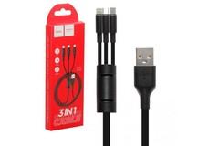 USB Кабель Hoco X25 3 in 1