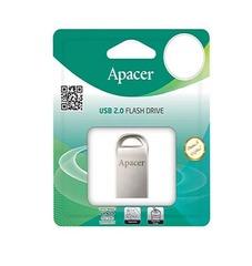 USB флеш накопитель Apacer 32GB AH115 Silver USB 2.0 (размер 2,5 см)