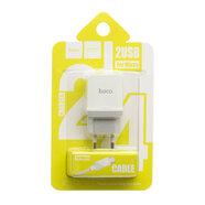 Зарядное устройство Hoco C33A 2USB microUSB