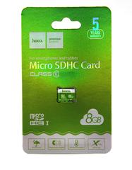 Карта памяти MicroSDHC Hoco 8GB