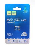 Карта памяти MicroSDHC Hoco 64GB