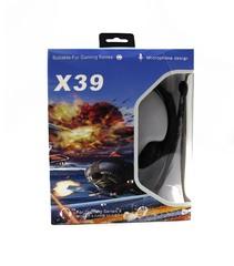 Проводные накладные наушники X37/X39