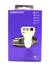 Автомобильное зарядное устройство Borofone BZ11 2USB