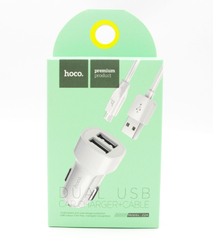 Автомобильное зарядное устройство Hoco Z2A Micro-Usb