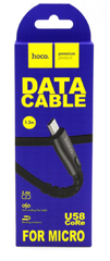 Кабель USB Micro-USB Hoco U58 Core
