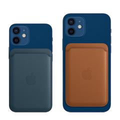 Кожаный чехол-кошелёк MagSafe для iPhone 12