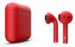 Беспроводные наушники TWS-XT9 красные матовые