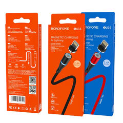 Кабель USB Borofone BU16 на Lightning