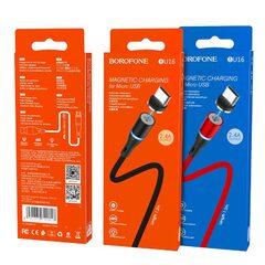 Кабель USB Borofone BU16 Skill magnetic Micro-USB