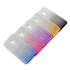 Чехол для Meizu (в ассортименте) накладка силикон с градиентом