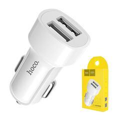 Автомобильное зарядное устройство Hoco Z2A на 2 USB порта