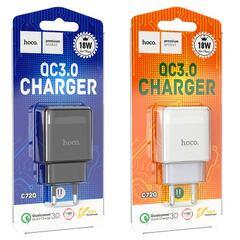"Зарядное устройство Hoco ""C72Q Glorious"" QC3.0"