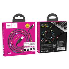 Usb-кабель Hoco U63 (Type-C) LED подсветка активируется звуком