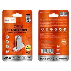 "HOCO Флеш накопители USB / Type-C  32 GB/64 GB ""UD8 Smart"" 3.0"