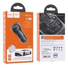 """Автомобильное зарядное устройство Hoco """"Z37 Sharp speed"""""""