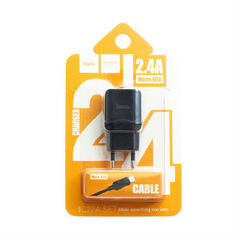 Сетевое зарядное устройство Hoco C22A c Micro USB