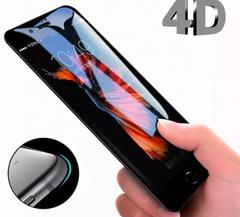 Защитное стекло 4D iPhone 6S, iPhone 7