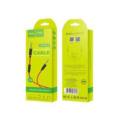 AUX кабель Hoco UPA 12 с микрофоном (Jack 3,5 мм, длина 1м)